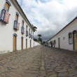 Street in Paraty, Brazil — Stock Video