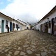 Street in Paraty, Brazil - Foto Stock