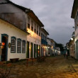 Tapestry of Corpus Christi in Paraty, Brazil - Stock Photo