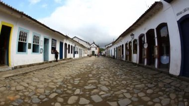 Strada a paraty, Brasile — Video Stock