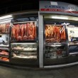 Meat and fish at Municipal Market Brazil - Stock Photo