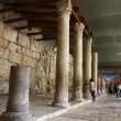 The Roman Cardo Maximus ruins, Jerusalem old city — Stock Video