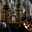 Church of the Holy Sepulchre: Mass - Stock Photo