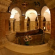 The Crypt at Basilica Church of the Dormition, Jerusalem - Foto Stock