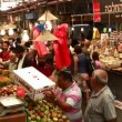 Stock Video: Mahane YehudMarket in Jerusalem