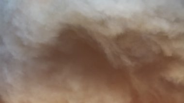 Huge cloud of smoke sunset — Stock Video