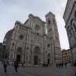 Stock Video: Duomo of Florence fisheye