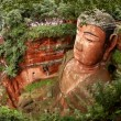 Giant Buddha, Leshan, China, time lapse - Foto Stock