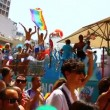 Gay Pride Parade in Tel Aviv, Israel — Stock Video