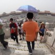 Forbidden City, Beijing, fisheye — Stock Video