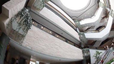 The Shanghai Museum fisheye — Stock Video