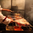 Stock Video: Chinese BBQ