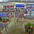 Shenzhen airport, China, time lapse — Stock Video