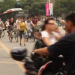 Chengdu municipality wants to alleviate traffic congestion and improve traffic circulation and safety — Stok video