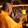 Praying at Baoguo monastery, Leshan, China - Foto de Stock