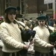 St. Patrick Day parade in Fifth Avenue, New York, USA — Stock Video