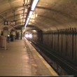 Stock Video: Subway coming