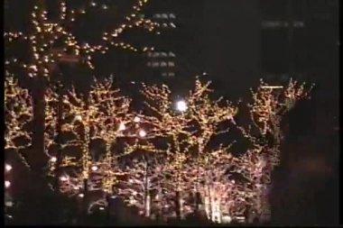 Walking in New York before Christmas — Stock Video