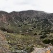 La Caldera de Bandama in volcanic island Gran Canaria timelapse - Stock Photo
