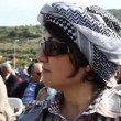 Haneen Zoabi a Muslim woman elected to the Israeli Knesset - Stock Photo