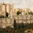 Stock Video: Neve Shaanan housing buildings Haifa Israel