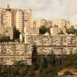 Névé shaanan abritant les bâtiments haifa israel — Vidéo