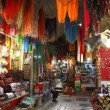 Tourists and locals visit bazaar market street old Jerusalem — Vidéo