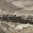 The wilderness of Zin Desert in the Negev district in southern Israel - Stock Photo