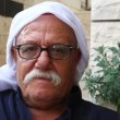 A Druze old senior man in Isfiya, Israel — Stock Video