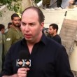 Or Heller, a reporter for security affairs for Israeli Channel 10 - Stock Photo