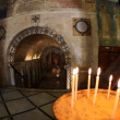 The Greek Orthodox Church of the Annunciation in Nazareth Israel - ストック写真