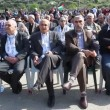 Sheikh Kamal Khatib Head of Islamic Movement's northern branch (2nd from Right) — Stock Video #23080962