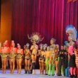 Participants in the Drag Queen competition — Vídeo de stock