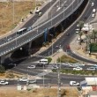Checkpost intersection Haifa Israel time lapse — Stock Video #23081324