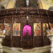 The Greek Orthodox Church of the Annunciation in Nazareth Israel - Stock Photo