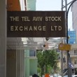 Israel Tel Aviv Stock Exchange TASE - Stock Photo
