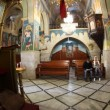 The Greek Orthodox Church of the Annunciation in Nazareth Israel — Stock Video