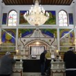Believers pray afternoon prayer in Bushaief Synagogue — Stock Video #23082178