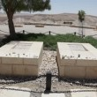 Graves of Pola and David Ben Gurion, the first Prime Minister of Israel - Stock Photo