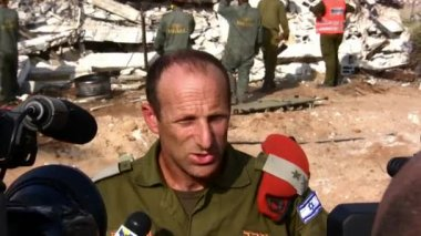 General Major Eyal Eizenberg, head of the Home Front Command, Israel — Stock Video