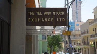 Israel Tel Aviv Stock Exchange TASE — Stock Video