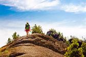 The journey to the mountain — Stok fotoğraf