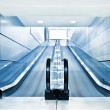 Special escalator in modern mall — Stock Photo