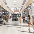 Interior of modern mall — Stock Photo