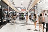 Interior of modern mall — Stock Photo