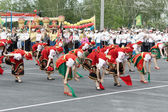 TATARSK, RUSSIA: JUNE 27, 2013 - The Culture Olympics competitio — Stock Photo