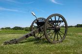 Cañón de la guerra civil — Foto de Stock