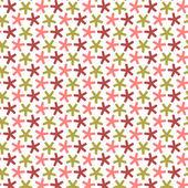 Repetición estrellas con ángulos redondos, vector de patrones sin fisuras. — Foto de Stock