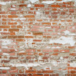 Ancient brick wall of the Novodevichy Convent, Moscow city — Stock Photo