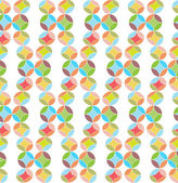 Circles, Abstract Vector Seamless Pattern. — Stock Photo